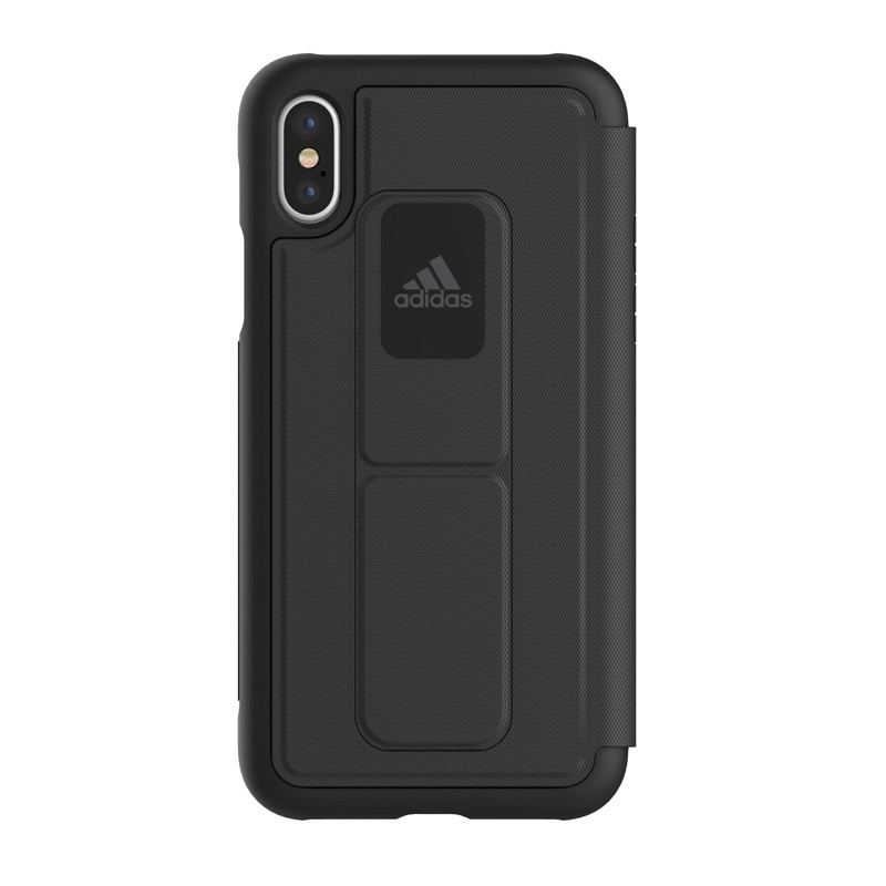 Adidas SP - Grip Case Folio iPhone X/Xs Zwart - 3