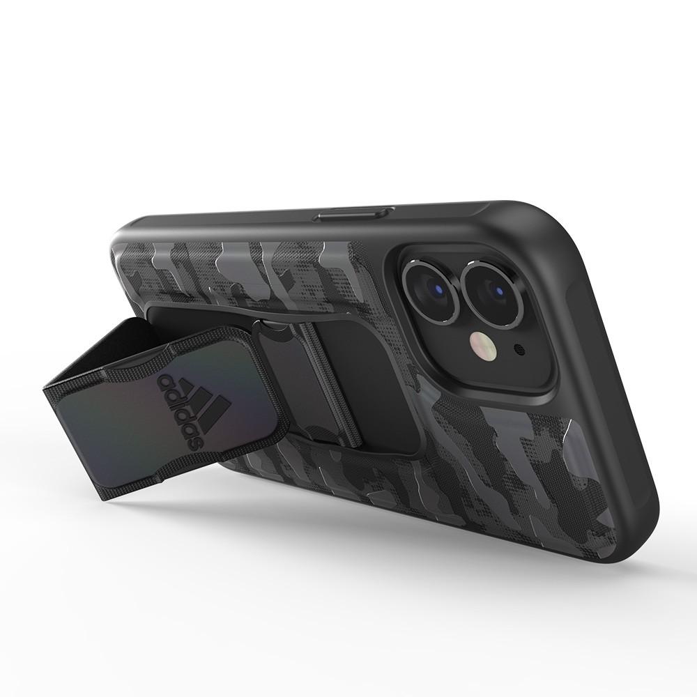 Adidas Grip Case Camo iPhone 12 Mini 5.4 Zwart Iridescent - 3