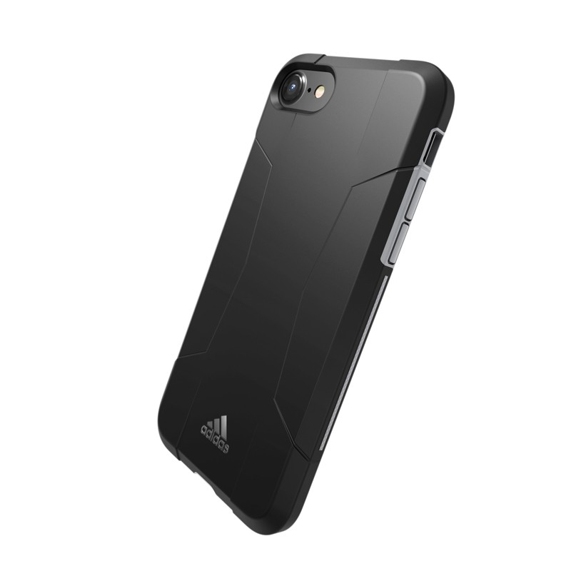 Adidas SP Solo Case iPhone 8/7/6S/6 Zwart/Grijs - 3