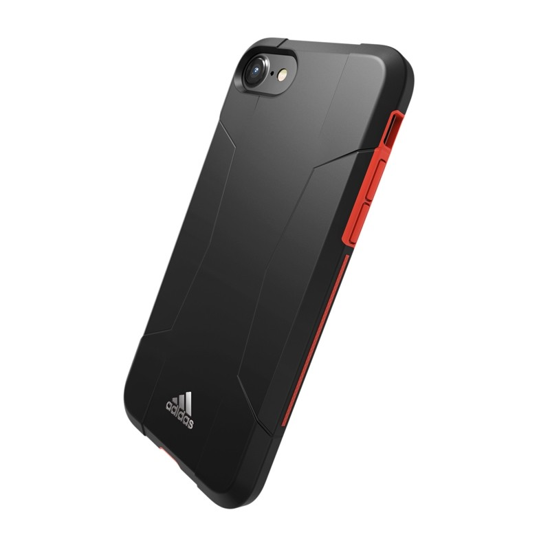 Adidas SP Solo Case iPhone 8/7/6S/6 Zwart/Rood - 3