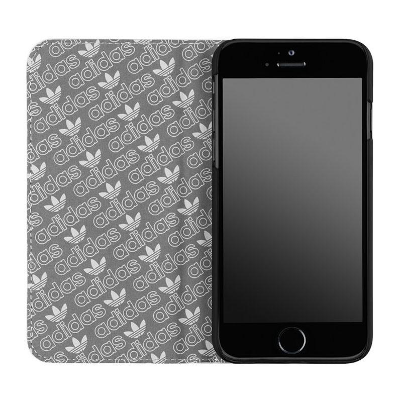 Adidas Booklet Case iPhone 6 White/Black - 3