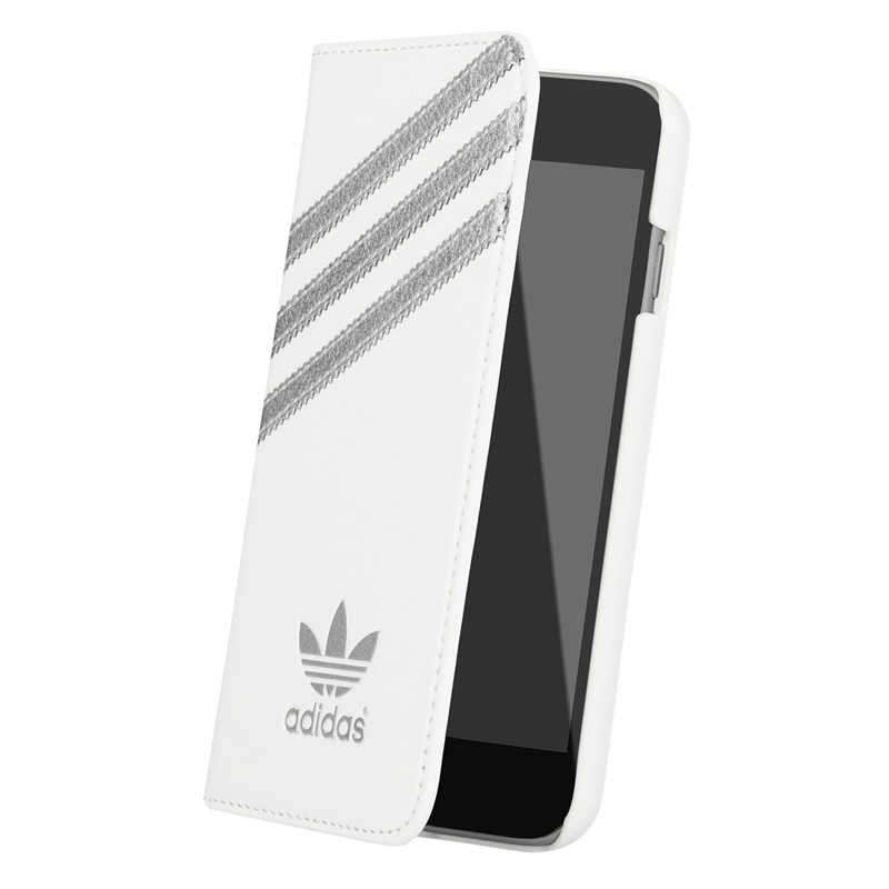 Adidas Booklet Case iPhone 6 White/Silver - 3