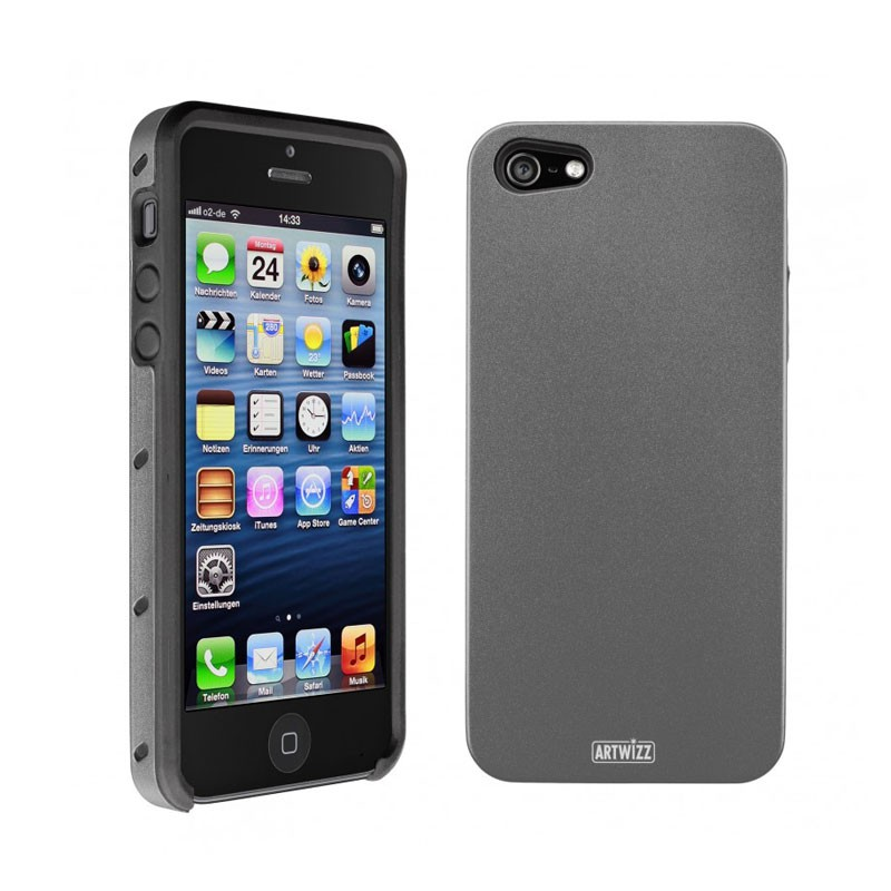 Artwizz SeeJacket Alu iPhone 5 (Titan) 03