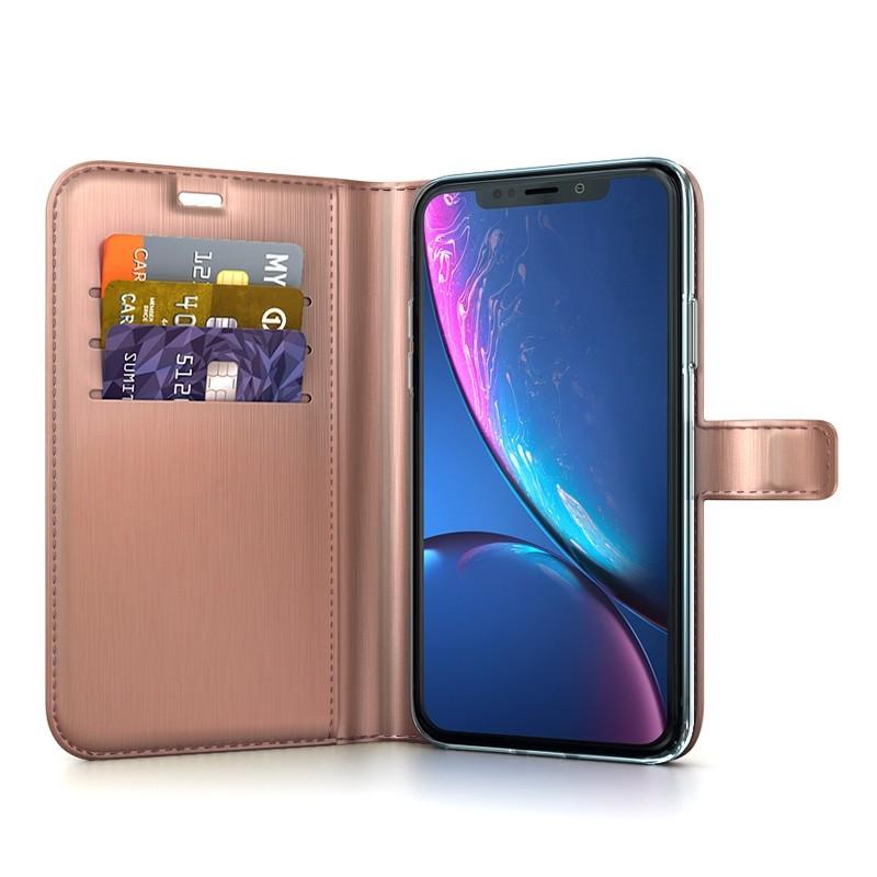 BeHello Wallet Case iPhone XR Roze 03