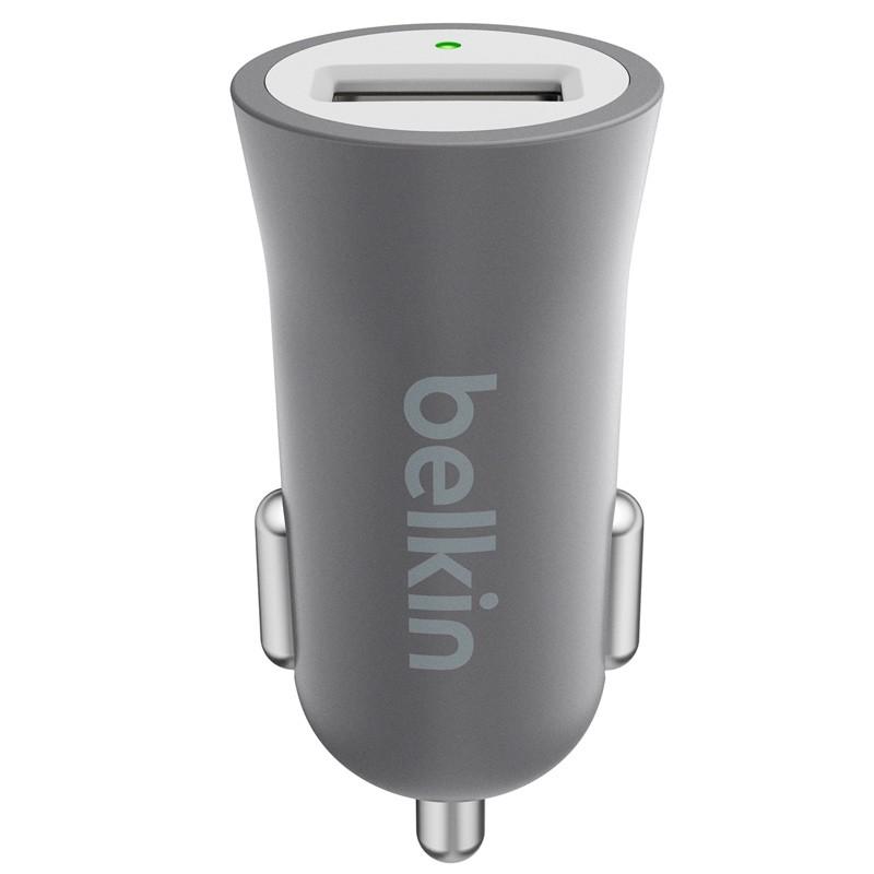 Belkin - Metallic Autolader met Lightning Kabel Grey 03