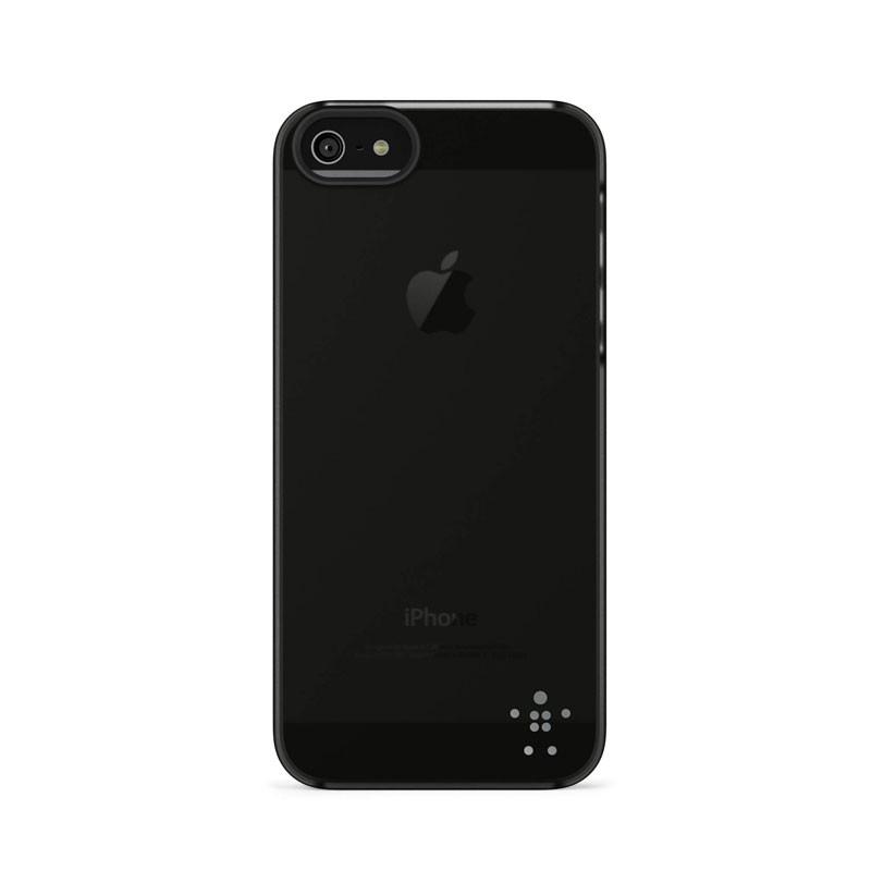 Belkin Shield Sheer Matte iPhone 5 (Black) 03