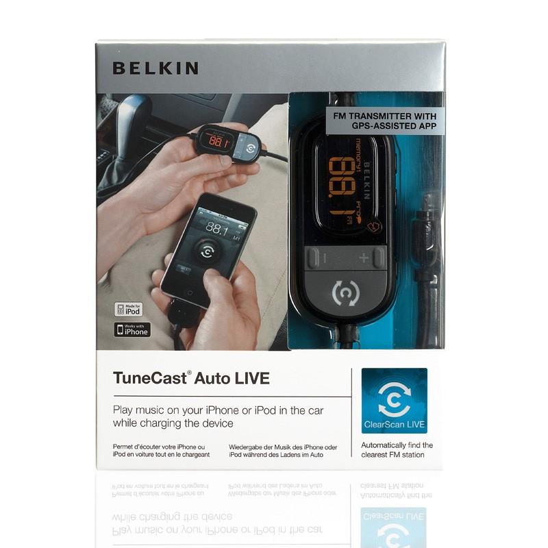 Belkin TuneCast Auto Live FM-Transmitter - 1