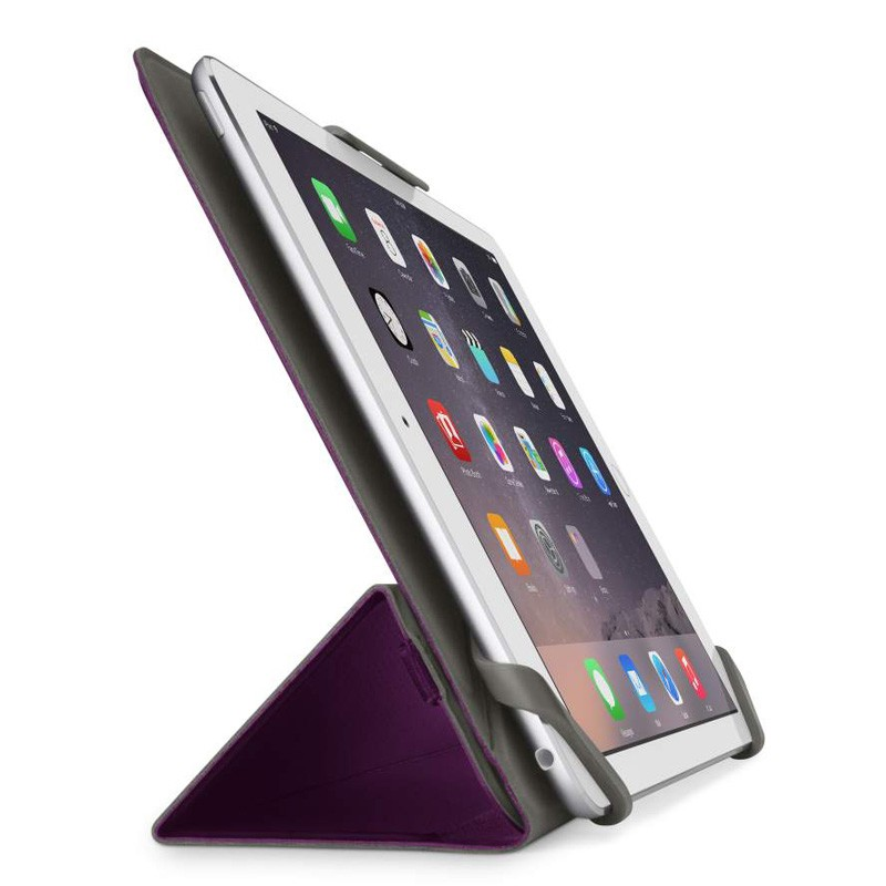 Belkin Twin Stripe Folio iPad mini (2019), iPad mini 4 Purple - 3