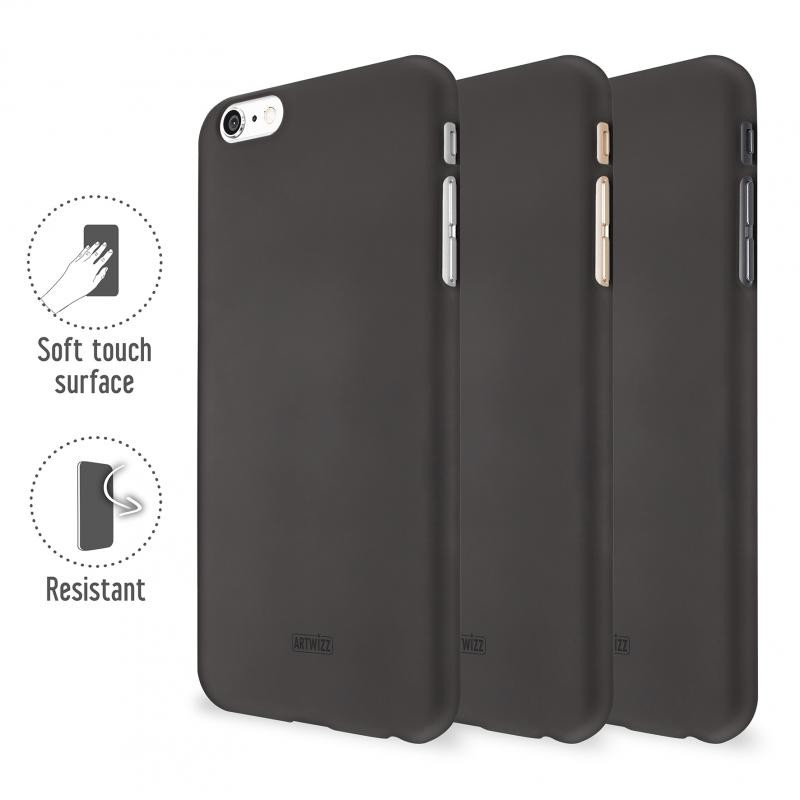 Artwizz Rubber Clip iPhone 6 Plus Black - 3
