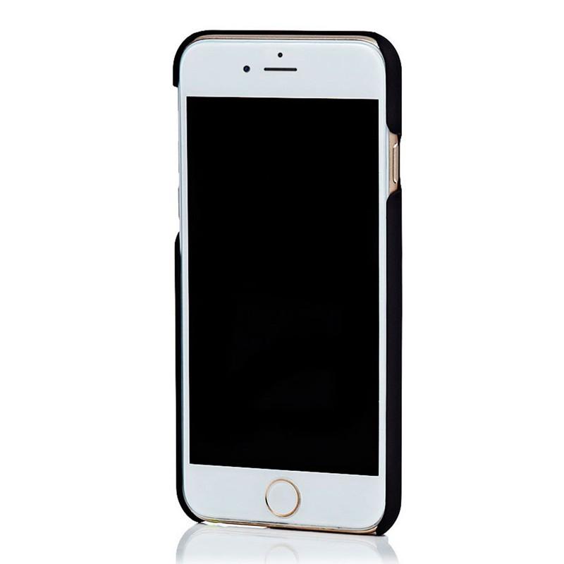 Knomo Leather Snap Case iPhone 6 Plus Blue - 3