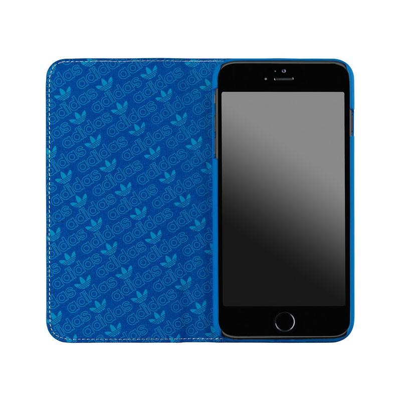 Adidas Booklet Case iPhone 6 Plus Blue/White - 3