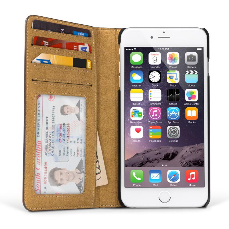 Twelve South BookBook iPhone 6 Plus Brown - 3