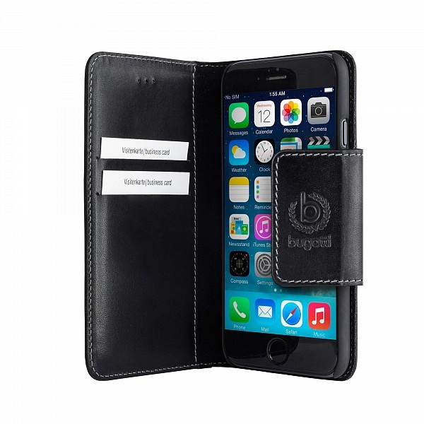 Bugatti BookCover Amsterdam iPhone 6 Plus Black - 3