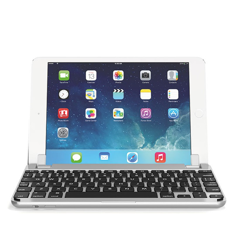 Brydge - Keyboard 7.9 inch iPad mini 4 Silver 03