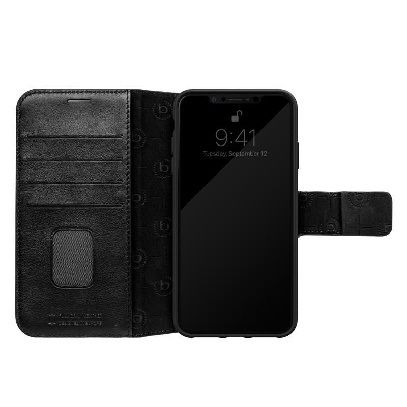 Bugatti Zurigo Lederen iPhone XS Max Wallet hoes zwart 03