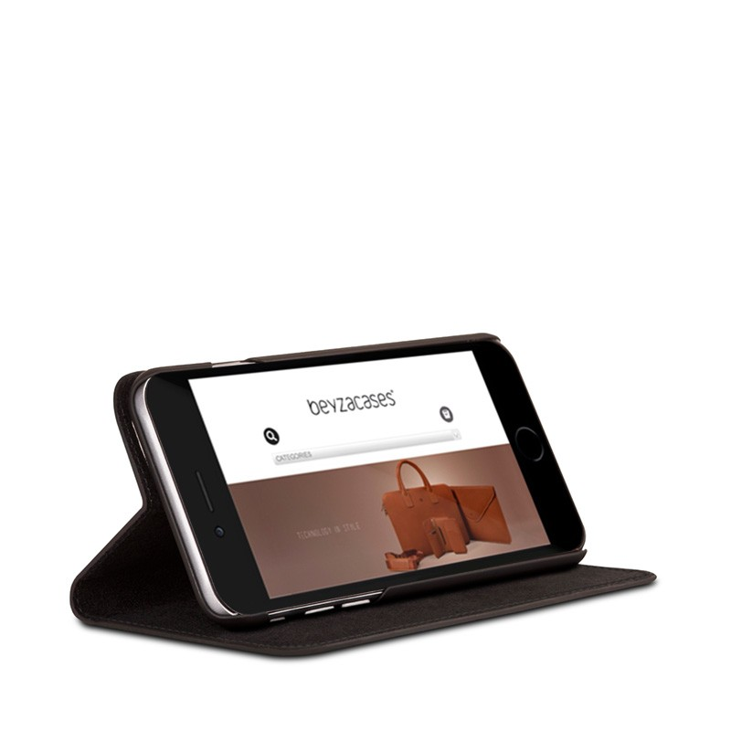 Beyzacases Arya Folio iPhone 6 Plus / 6S Plus Black - 3