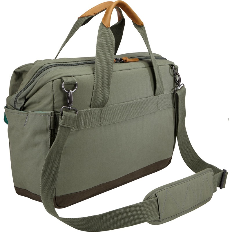 Case Logic LoDo Satchel 15 inch Petrol Green - 3