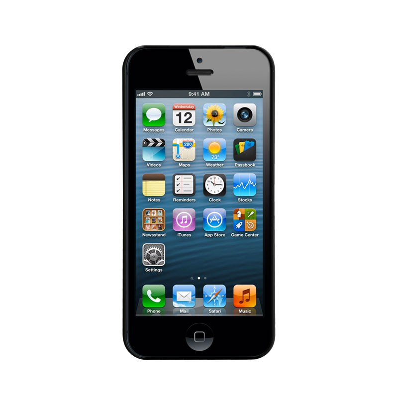 Case-mate - Barely There Case iPhone 5 (Black) 03