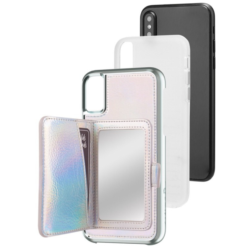 Case-Mate Compact Mirror Case iPhone X Iridescent 03