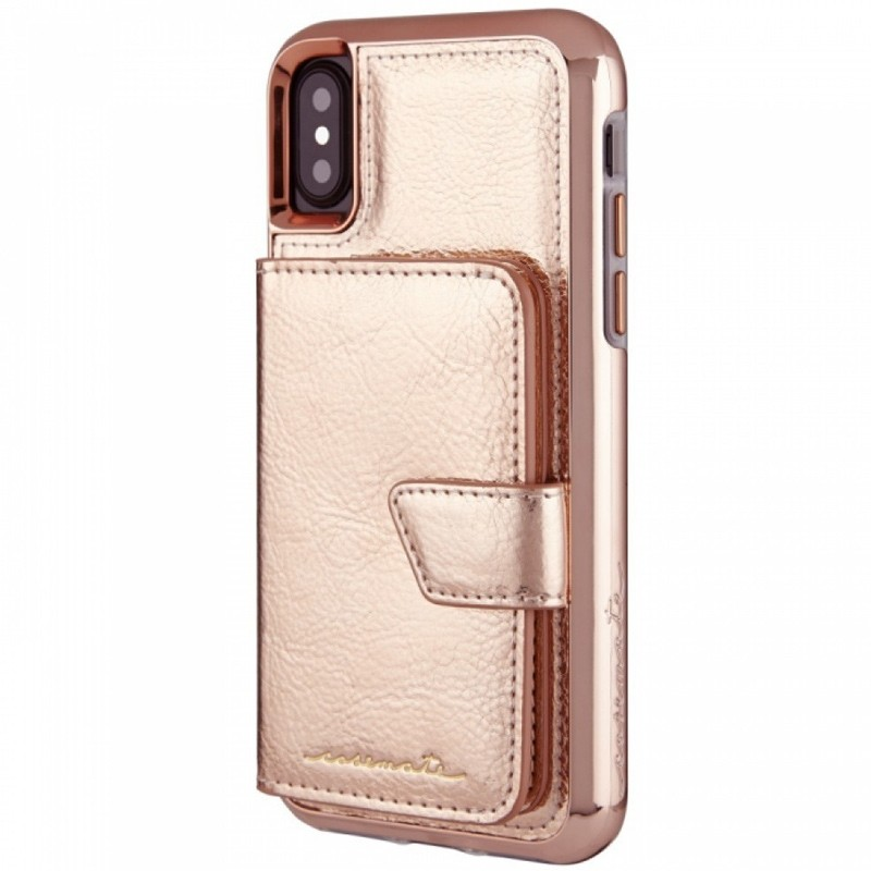 Case-Mate Compact Mirror Case iPhone X/Xs Rose Gold 03
