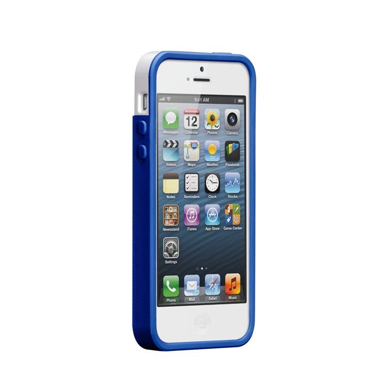 Case-mate - Pop! Case iPhone 5 (White-Blue) 03