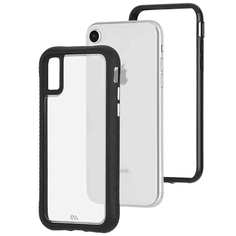 Case-Mate Protection Collection iPhone XR Hoes Zwart Transparant 03
