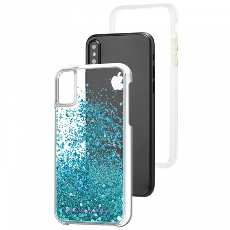 Case-Mate Waterfall Case iPhone X/Xs Teal 03