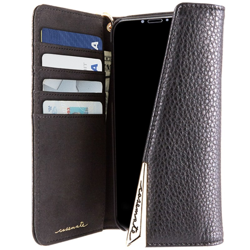 Case-Mate Wristlet Folio iPhone X Black 03