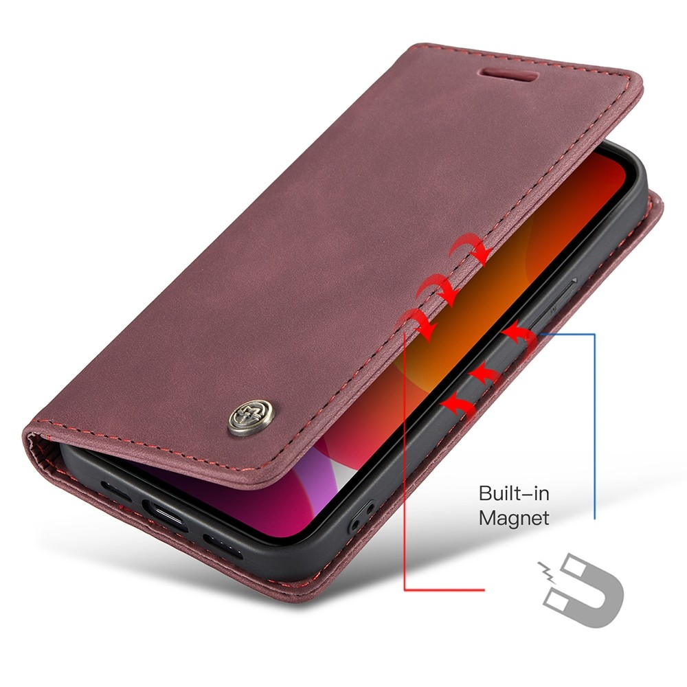 CaseMe Retro Wallet iPhone 11 Pro Paars - 3