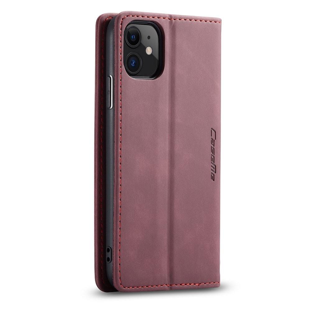 CaseMe Retro Wallet iPhone 11 Paars - 3
