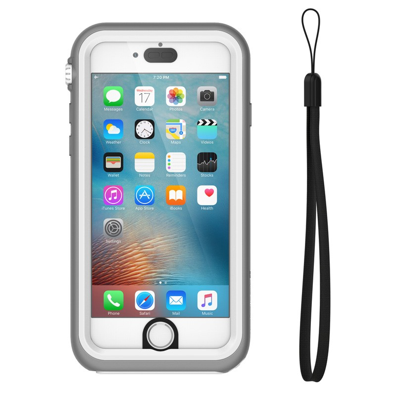 Catalyst Waterproof Case iPhone 6 / 6S White/Grey - 3