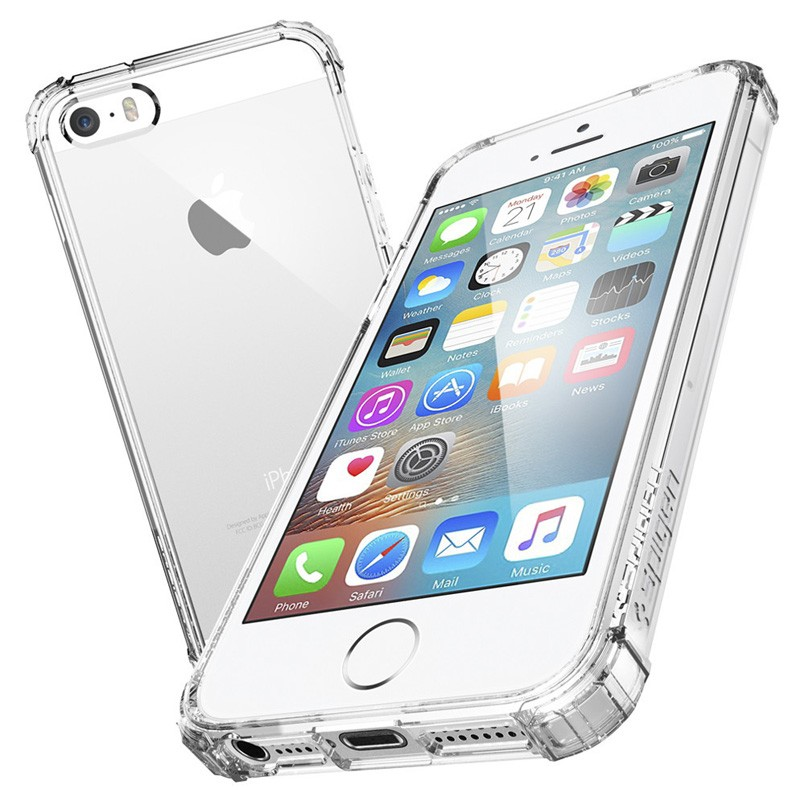 Spigen Crystal Shell iPhone SE / 5S / 5 Clear - 3