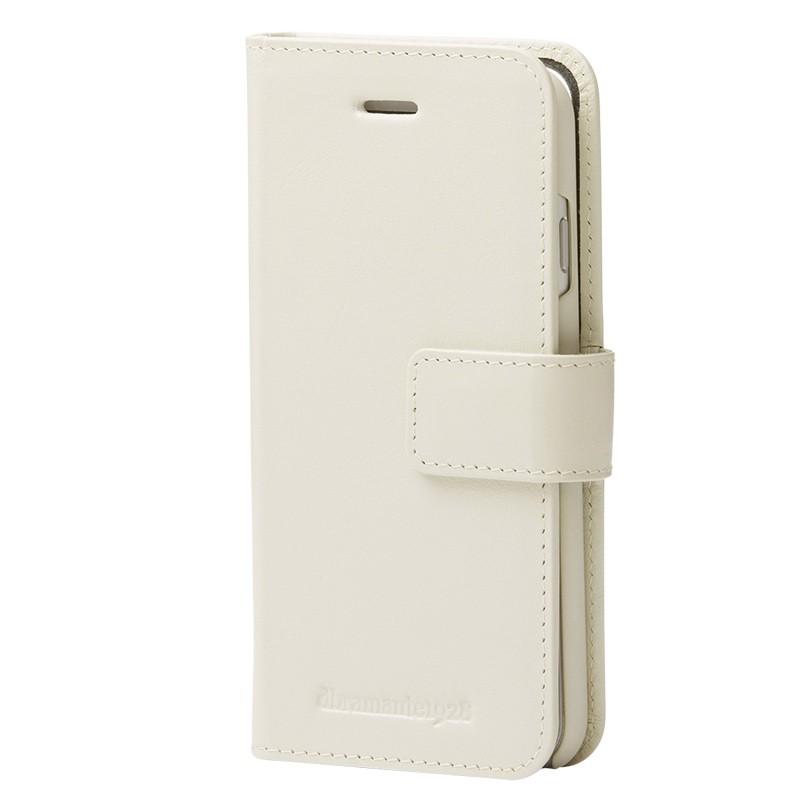 DBramante1928 - Copenhagen 2 Leather Folio iPhone 7 White 03