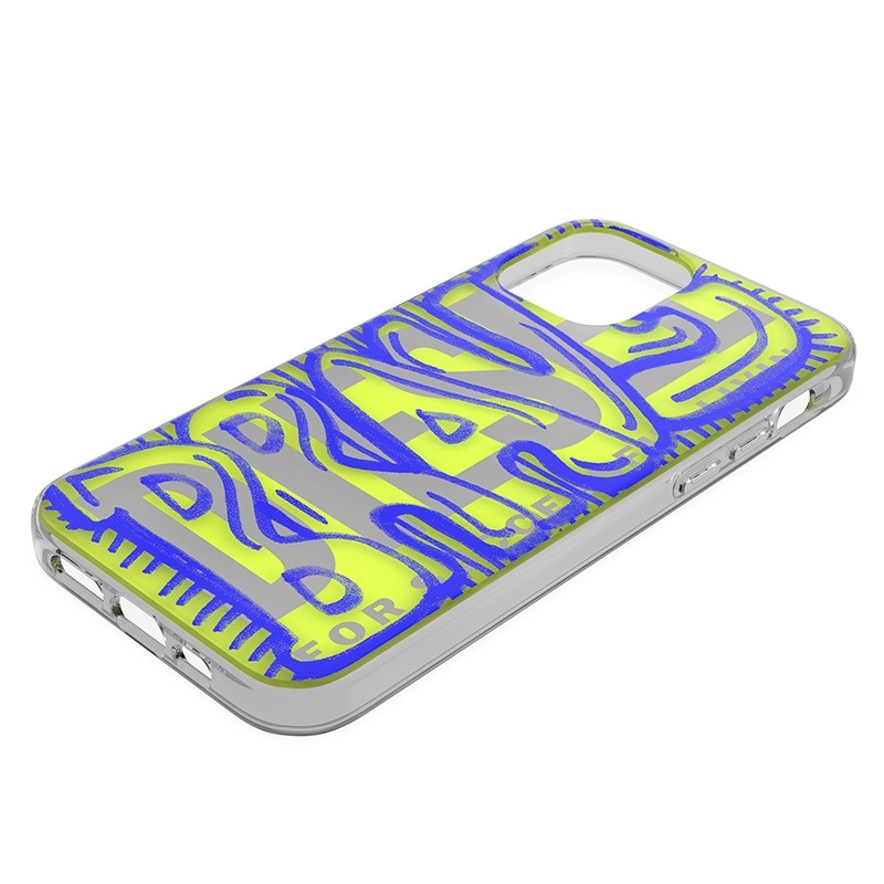 Diesel Snap Case Clear iPhone 12 Pro Max 6.7 clear blue 03