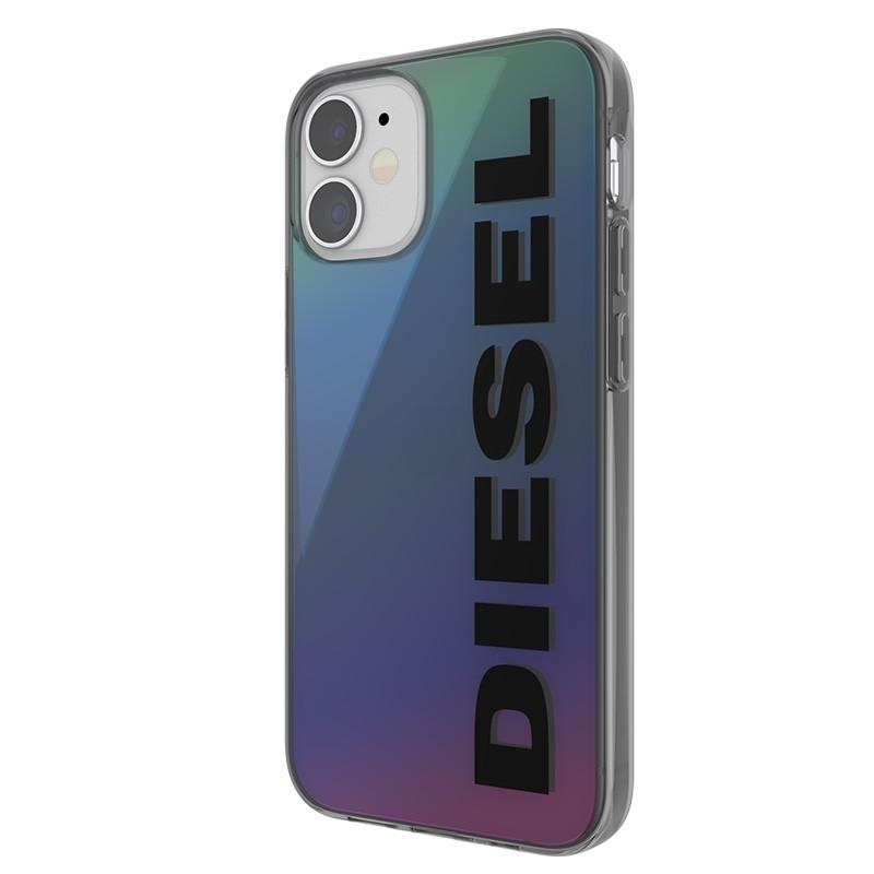 Diesel Snap Case Clear iPhone 12 Mini 5.4 Holo Logo 03