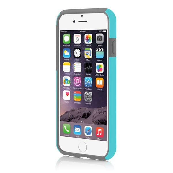 Incipio DualPro Case iPhone 6 Plus Cyan/Grey - 3