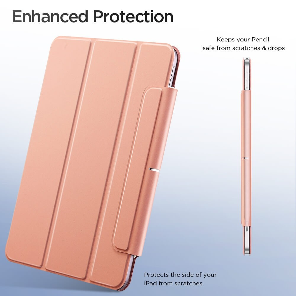 ESR Rebound Magnetic Case iPad Air 4 (2020) Zilver - 4