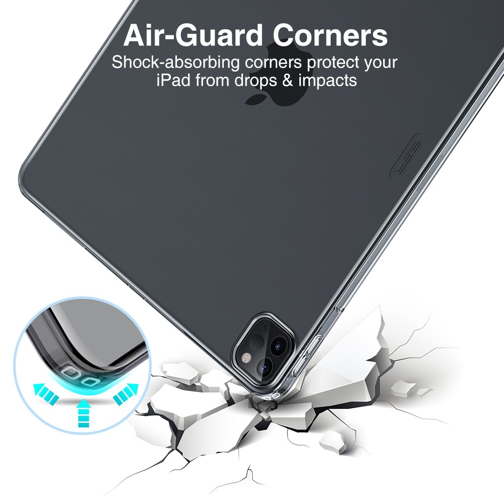 ESR Soft Shell iPad Pro 12.9 inch (2020) smoke - 3
