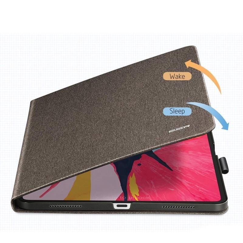 ESR Slim iPad Pro 11 inch Folio Hoes Grijs Taupe 03