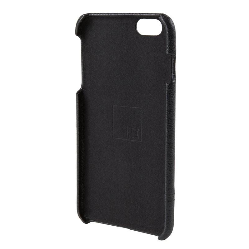 HEX Solo Wallet Case iPhone 6 Plus Black Pebbled - 3