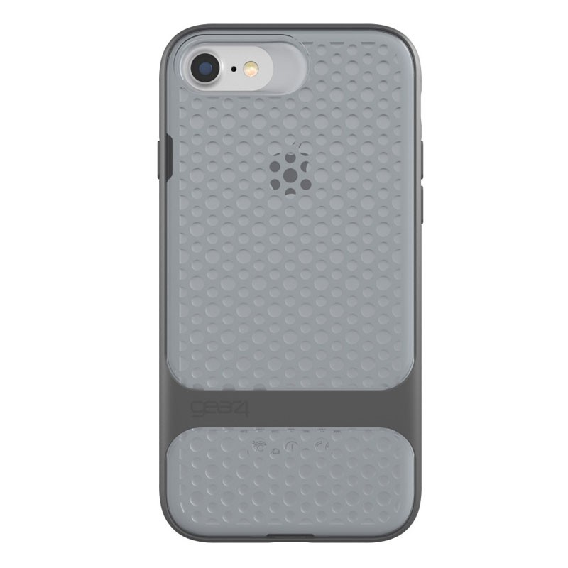 Gear4 Carnaby D3O Case iPhone 7 Silver/Grey - 3