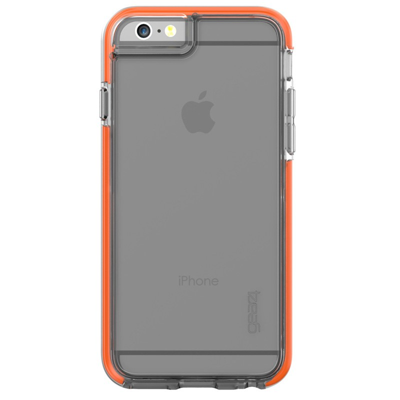Gear4 3DO IceBox Shock iPhone 6 / 6S Clear/Orange - 3