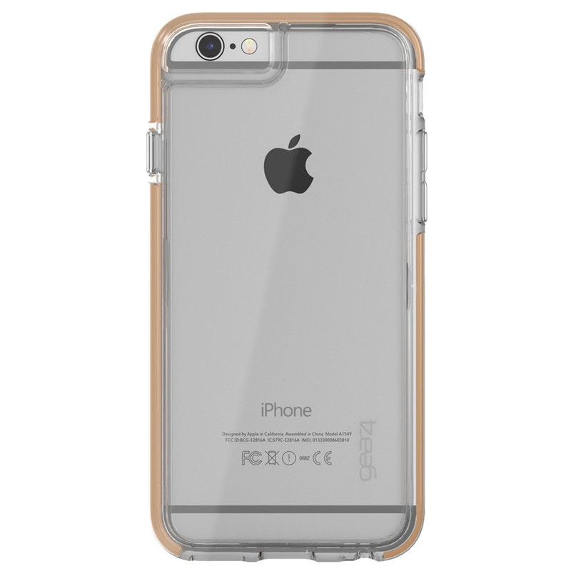 Gear4 3DO IceBox Tone iPhone 6 / 6S Gold/Clear - 3