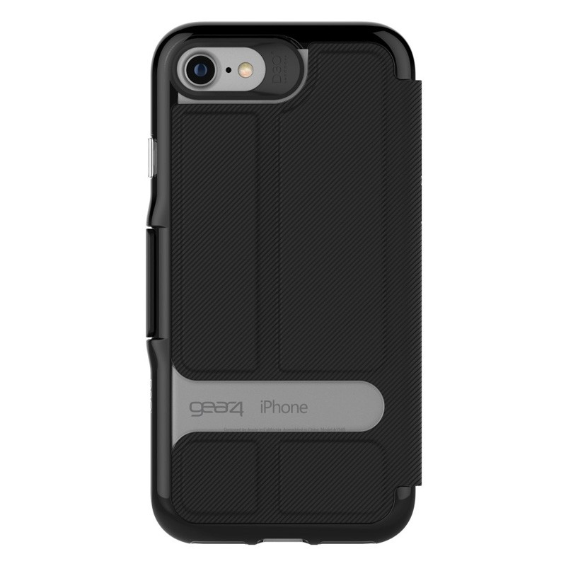 Gear4 Oxford Book Case iPhone 7 Black - 3