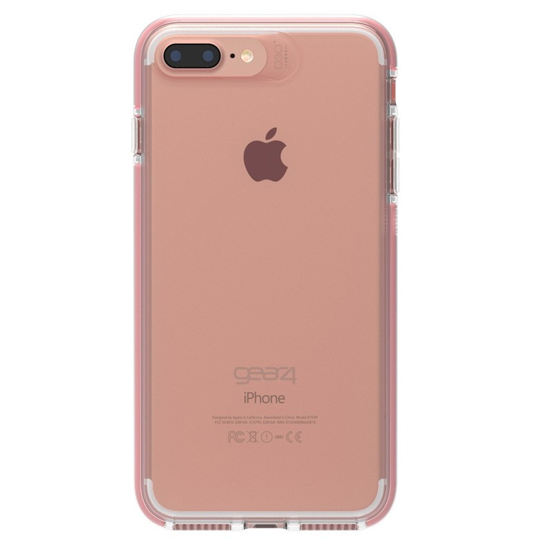 Gear4 Piccadilly iPhone 7 Plus Rose Gold/Clear - 3