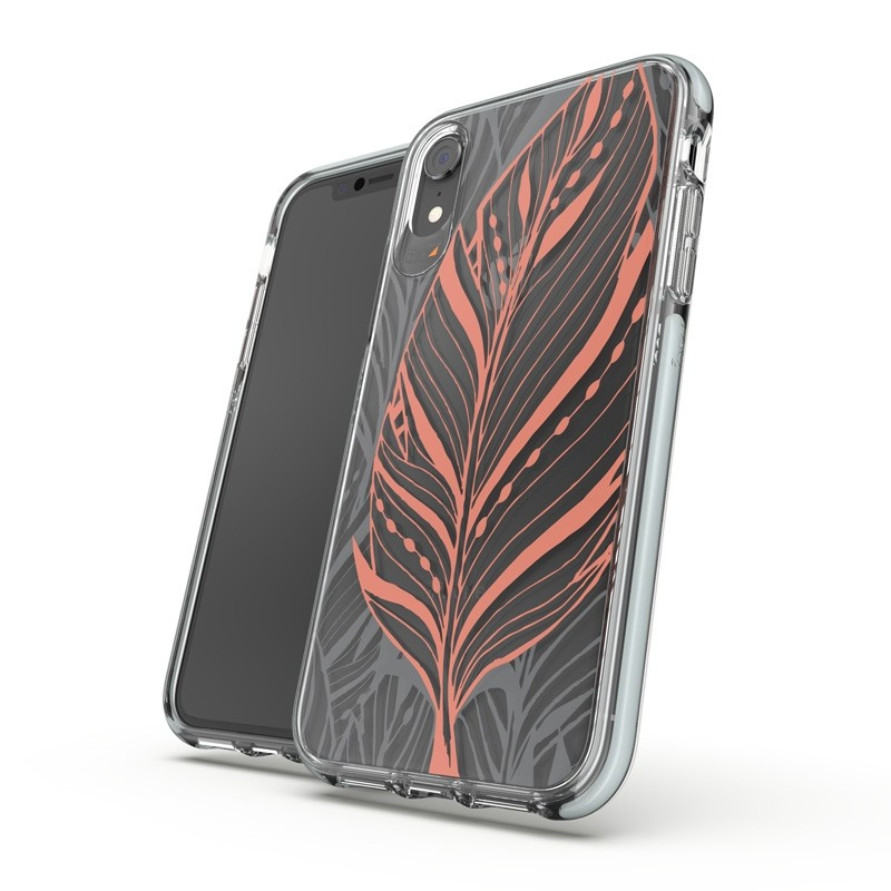 Gear4 Victoria iPhone XR Hoesje Tribal Transparant 03