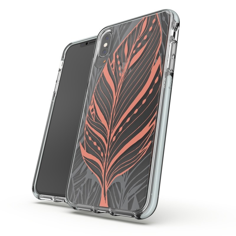 Gear4 Victoria iPhone XS Max hoesje Tribal/Transparant 03