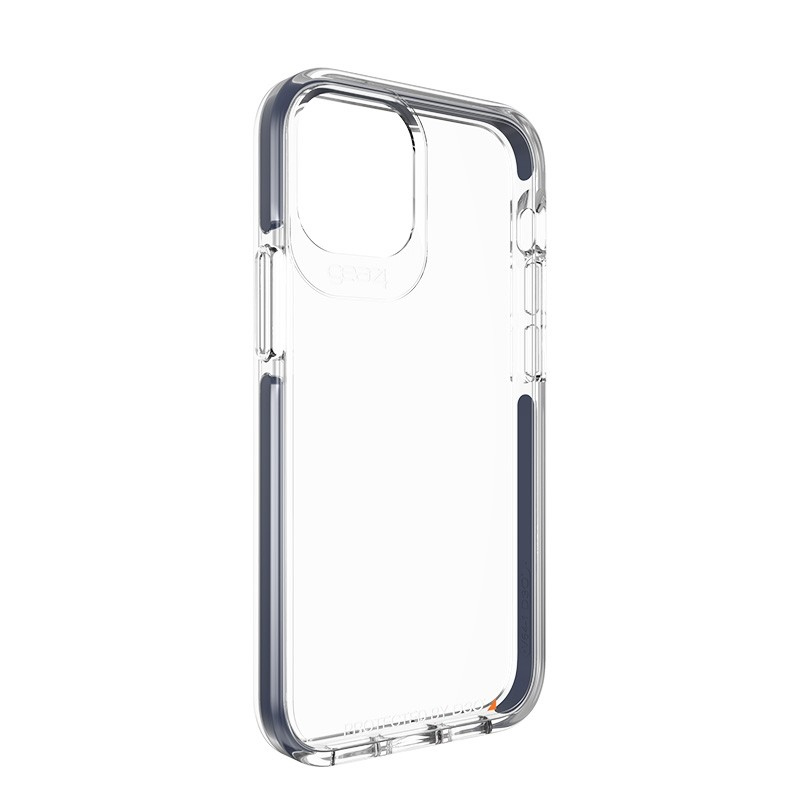 Gear4 - Piccadilly iPhone 12 Mini 5.4 inch Blauw/Transparant 03