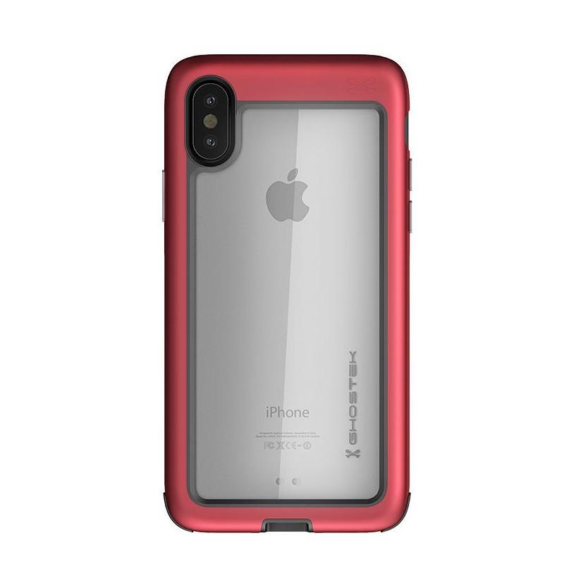 Ghostek Atomic Slim Case iPhone X/Xs red 03