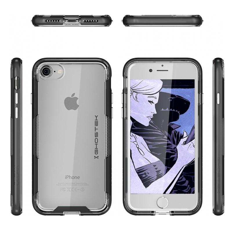 Ghostek - Cloak 3 iPhone 8/7 Hoesje black/clear 03